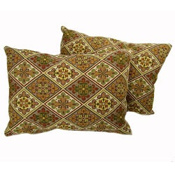 Triangles Throw Pillows (Set of 2)
