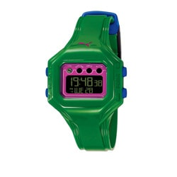 Puma Women's 'Bounce' Green Digital Watch
