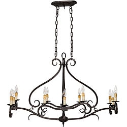 World Imports Chelton Collection 12-light Hanging Island Light