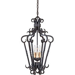 World Imports Bristol Collection 3-Light Foyer Pendant