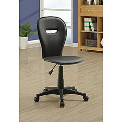 Black Open Back Office Chair