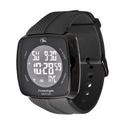 Freestyle Men's 'Tangent' Black Strap Digi-touch World Time Watch