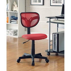 Red Kids Desk Chair