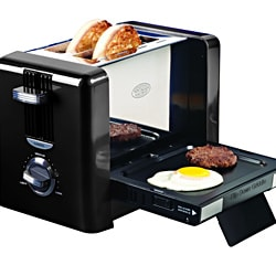 Nostalgia Electrics Flip-down Breakfast Toaster