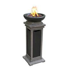 Ravenswood Envirostone 1-pound Outdoor Gas Column Fire Bowl