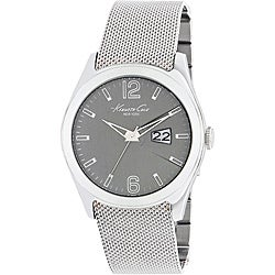 Kenneth Cole New York Men&#39;s Stainless Steel Mesh Band Watch