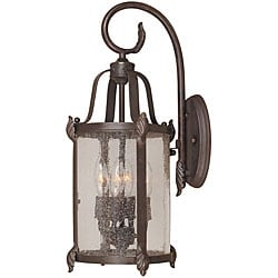 World Imports Old Sturbridge Collection 4-light Outdoor Wall Lantern