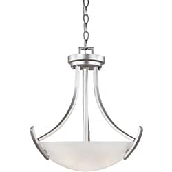 World Imports Beyond Modern Collection 3-light Small Convertible Pendant