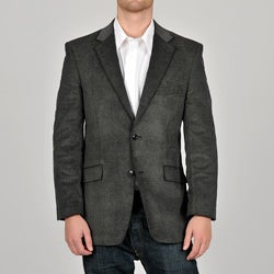 Adolfo Men's Grey Corduroy Blazer