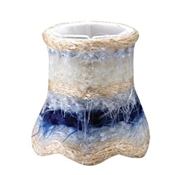 Blue Silk Mini Shades (Set of 4)