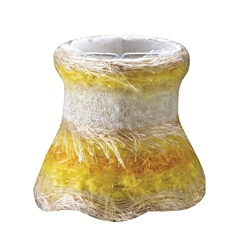 Yellow Silk Mini Shades (Set of 4)