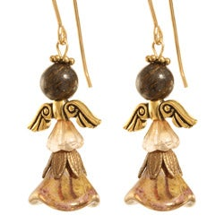 'Hael' Angel 14k Gold Fill Earrings
