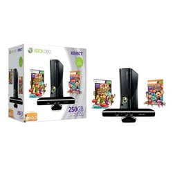 Xbox 360 - 250GB Console Kinect Bundle