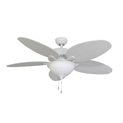EcoSure Siesta Key Bowl Light White 52-inch Ceiling Fan