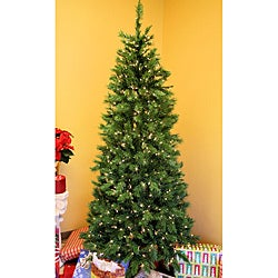 Duchess Spruce 7.5-foot Pre-Lit Artificial Christmas Tree