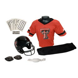 Franklin Sports Youth Texas Tech Football Uniform Set