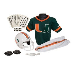 Franklin Sports Youth Miami Football Uniform Set