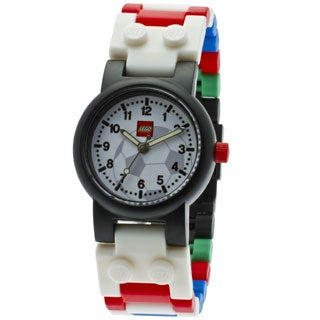 LEGO Kids' 4193356 Soccer Link Watch with Minifigure