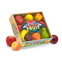 Melissa & Doug Play-time Fruit Play Set