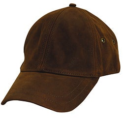 Stetson Men's 'Oily Timber' Brown Leather Cap