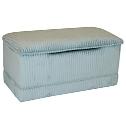 Magical Harmony Kid's Sage Chenille Deluxe Toy Box