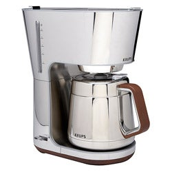 Krups KT600 Silver Art Collection 10-cup Thermal Carafe Coffee Maker