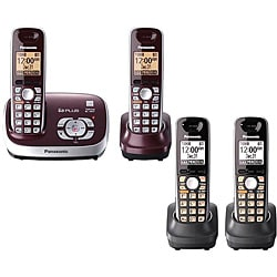 Panasonic DECT 6.0 2 Handset Cordless Phone Answering System