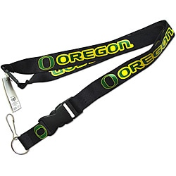 Aminco Oregon Ducks Black Clip Lanyard | Overstock.com