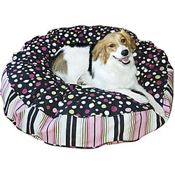 Scooter Deluxe Medium Round Dog Bed