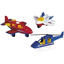 American Plastic Toys Assorted Aircraft Toy Set