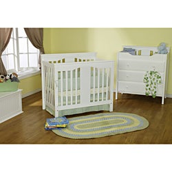 DaVinci White Annabelle Mini Crib