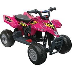 One-seater Pink 6V Suzuki Big ATV Ride-on