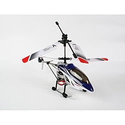 Extreme 333 Blue Mini Gyro 3.5 Channel RC Helicopter