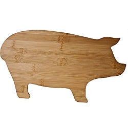 Natural Bamboo Pig-shaped Cutting Board