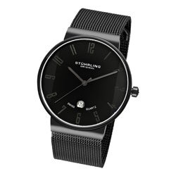 Stuhrling Original Men's Monticello Stainless-Steel Swiss Quartz Watch