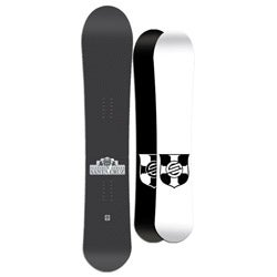 Santa Cruz Men's Black Twinza Platinum 159cm Snowboard