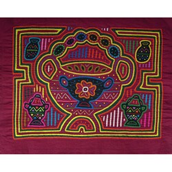 'Fantasy Bowl' Tapestry (Panama)