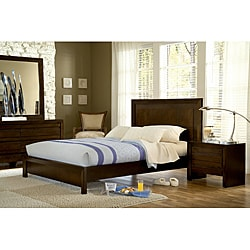 4 Piece Finger Pull California King Size Bedroom Set 13937870 Overstock C
