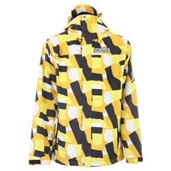 Grenade Men's Yellow Army Corps Snowboard Jacket