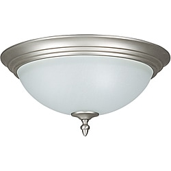 Three Light Flush Mount Light