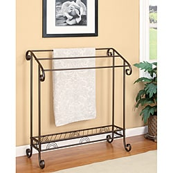 Metal Bathroom Towel Rack