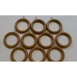 Walnut Wooden Rings (Set of 10)