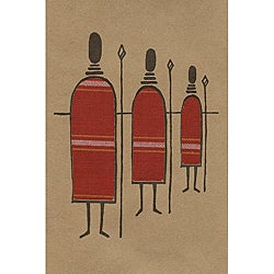 Set of 4 African Proverb Maasai Cards (Kenya)