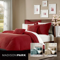 Madison Park Leland 5-piece King-size Duvet Cover Set