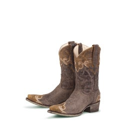 Lane Boots Women&#39;s Chocolate &#39;Dakota&#39; Cowboy Boots