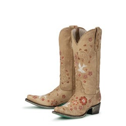 Lane Boots Women's Tan 'Groovy Girl' Cowboy Boots