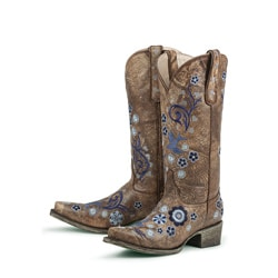 Lane Boots Women's Brown 'Groovy Girl' Cowboy Boots