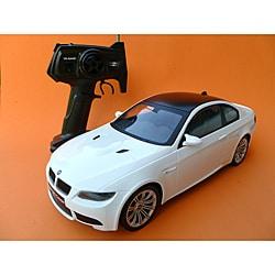 Tri Band 1:14 Scale White BMW M3 Coupe Radio Control Car