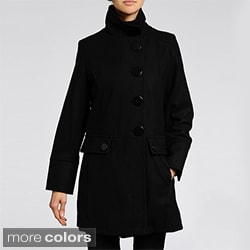 Nuage Women's Melton Wool-blend Short Coat
