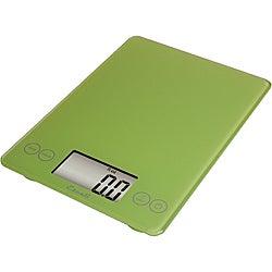 Escali Arti Lime Green 15-pound Digital Food Scale